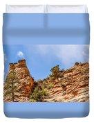 Zion Canyon National Park Utah Duvet Cover