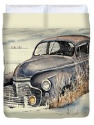 40 Chevy Duvet Cover