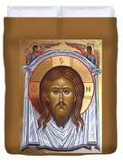 Jesus Christ Lord Savior Duvet Cover