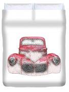 40 Willys Duvet Cover