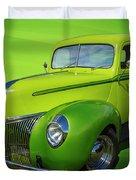 40s Ford Pickup Duvet Cover