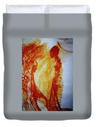 The Annunciation Duvet Cover