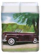 42 Chevy Duvet Cover