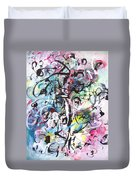 Abstract Expressionsim Art Duvet Cover