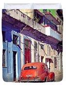 Havana Cuba Duvet Cover