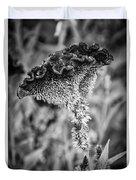 4390- Flower Black And White Duvet Cover