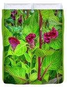 4398- Flowers Duvet Cover