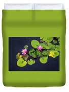 4425- Lily Pads Duvet Cover