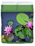 4432- Lily Pads Duvet Cover