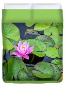 4434- Lily Pads Duvet Cover