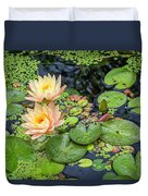 4445- Lily Pads Duvet Cover