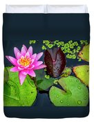 4475- Lily Pads Duvet Cover