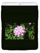 Australia - Pink Flowers Duvet Cover
