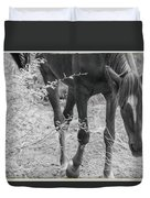Wild Mustangs Duvet Cover