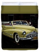 48 Buick Ragtop Duvet Cover