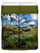 49- Florida Everglades Duvet Cover