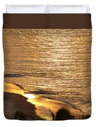 Golden Scenery Duvet Cover