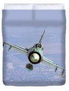 A Bulgarian Air Force Mig-21bis Armed Duvet Cover