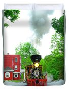 A President's Funeral Train - 3435 Duvet Cover