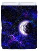 Abstract Stars Nebula Duvet Cover