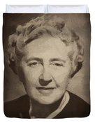 Agatha Christie 2 Duvet Cover