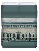 Architecture And Buildings On Streets Of Washington Dc Duvet Cover
