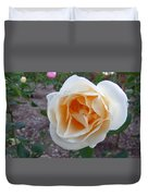 Australia - White Rose Flower Duvet Cover