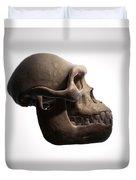 Australopithecus Skull Duvet Cover