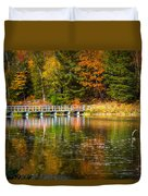 Autumn Season In Killarney Duvet Cover