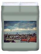 Berlin Skyline Duvet Cover