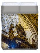 Cathedral Of Seville - Seville Spain Duvet Cover