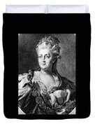 Catherine II (1729-1796) Duvet Cover