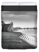 Central Pier Blackpool Duvet Cover