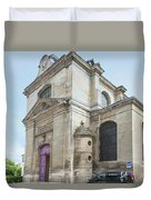 Chantilly France Street Scenes Duvet Cover