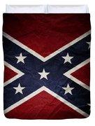 Confederate Flag 8 Duvet Cover