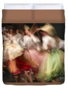 Dancers In Motion  Duvet Cover