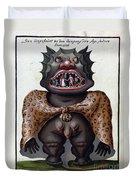 Demonology, 18th Century Duvet Cover