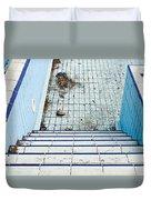 Derelict Swimming Pool Duvet Cover