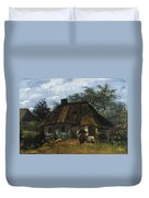 Farmhouse In Nuenen Duvet Cover