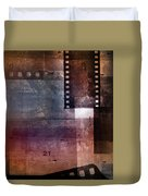 Film Strips 3 Duvet Cover