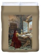 Galileo Galilei, 1564-1642 Duvet Cover