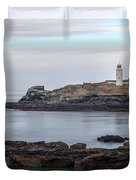 Godrevy Lighthouse - England Duvet Cover