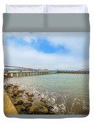 Golden Gate Bridge Crissy Field Duvet Cover