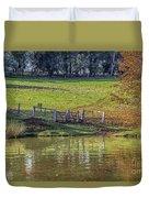 Golden Valley Tree Park Duvet Cover