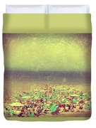 Gordon Beach, Tel Aviv, Israel Duvet Cover