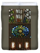 Graphic Art From Photo Library Of Photographic Collection Of Christian Churches Temples Of Place Of  Duvet Cover