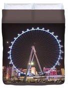 High Roller - Las Vegas Nevada Duvet Cover