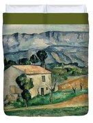 House In Provence Duvet Cover