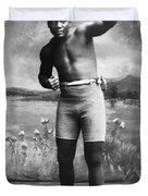 Jack Johnson (1878-1946) Duvet Cover