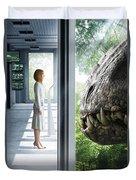 Jurassic World 2015  Duvet Cover